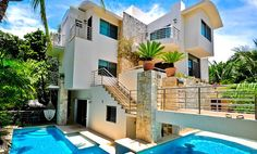 Playa del Carmen, Riviera Maya Design Villa - Casa Prieto - Villa Rentals,