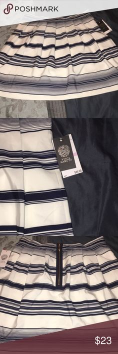 Vince Camino Striped Skirt New Vince Camuto Striped Skirt. Brand new! Vince Camuto Skirts Midi