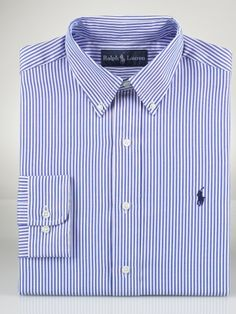 Ralph Lauren Classic-Fit Striped Oxford