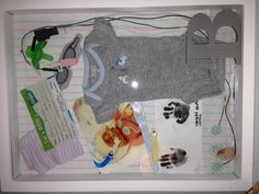 NICU shadow box. I so want to do this!