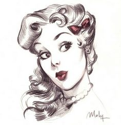 Here's the SHOP ! | Maly Siri's Pinup Doodles