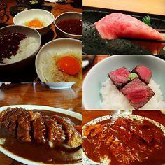 [山形&仙台…ご飯もの] . エンジェルのスペシャルカツカレー。帰省した日にカツカレーで、東京へ戻る日はヒレカツカレー。学生時代から何年も通い続けた思いでの味♪ . 肉山のカレーを卵かけご飯にかけて食べたらめっちゃ美味しかったな。 . 11月は仙台でシャンパン鍋😍🎶 . 帰ったばかりだけど、11月が楽しみすぎてヤバイな✨ . #山形 #仙台 #カレーライス #カツカレー #肉 #ご飯  #握り #ステーキ #卵かけご飯  #フォトジェ肉 #食べ歩き  #飯テロ #美味しい #写真 #グルメ #食べるの好きな人と繋がりたい #写真が好きな人と繋がりたい #日本酒好きな人と繋がりたい  # #japan  #steak  #curry  #beef #meat  #delicious #food #foodpics #foodporn #lunch #picture