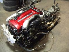 NISSAN SKYLINE GTR R34 RB26DETT TWIN-TURBO ENGINE