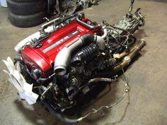 NISSAN SKYLINE GTR R34 RB26DETT TWIN-TURBO ENGINE