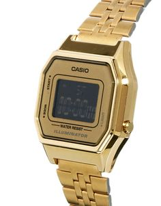 Casio LA680WEGA Mini Digital Gold Watch, $116.02 CAD from ASOS http://neonwatch.tumblr.com/post/101744918811/great-deal-on-the-vaporware-golden-casio-at