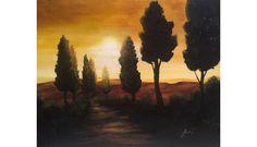 """Sunset"" Original Painting by Lani Walling $250.00"