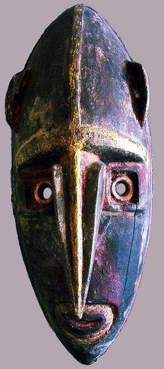 Boiken mask- Art Océanien - Art Tribal - Art Premier - Galerie Franck Marcelin