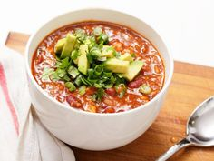 Best Vegetarian Bean Chili  from the website seriouseats.com   The main author of the site is funny, knowledgeable with just a dash of dark humor and sarcastic wit. I love reading his posts almost as much as I love staring at the pictures of food and thinking about cooking and/or eating them.