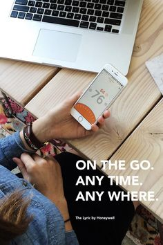 #HoneywellLyric that works with your lifestyle - at home or on the go #sponsored// This is so cool. intelligent home//