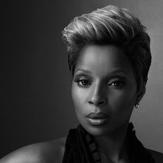 Mary J.Blige, another musical artist I grew up listening to in the 90's. Her songs are deep, powerful, and real R (except that horrible one sh made with Lil' Wayne & Puff Daddy, P.Diddy, or whatever in the hell is whack name is now!).