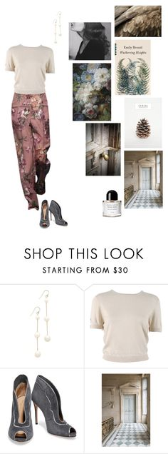 """""""Wuthering Heights"""" by tasteofbliss ❤ liked on Polyvore featuring Chan Luu, Behnaz Sarafpour, Gianvito Rossi, Trianon and Byredo"""