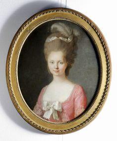 Retrato de dama del siglo XVIII