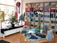 Woll-Lust, the new place in Kreuzberg to buy wool.