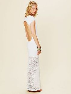 shopstyle.com: Nightcap Dreamcatcher Open Back Maxi Dress