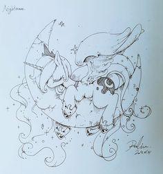 Luna. to Pen by RenoKim.deviantart.com on @DeviantArt