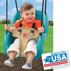 Step2 Toddler Swing, Teal