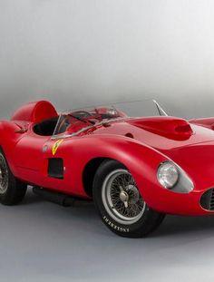 1957 Ferrari 335 S Spider Scaglietti Sold for $34.9 Million