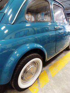 Detailing & Polishing a Fiat 500 Fiat 500, Vintage Cars, Classic Cars, Restoration, Vintage Classic Cars, Classic Trucks, Retro Cars