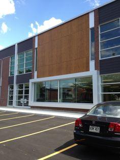 Project: Ecole Exupery Location: Montreal  Product: Parklex Architect: Un architecture inc. #brilliantbuildings