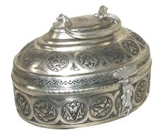 Ottoman Copper Palace Soap Dish Turkish Traditional by ottomanland, $135.00