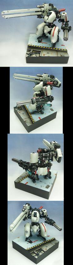Filbot FDV4 Mako with Railgun