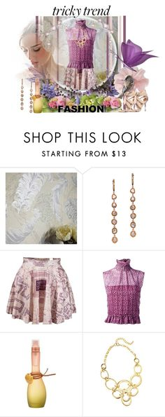 """""""Romantic High-Neck Blouses"""" by slynne-messer ❤ liked on Polyvore featuring L'Dezen, Chanel, Jennifer Lopez, Nine West, women's clothing, women's fashion, women, female, woman and misses"""