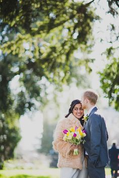 Images by Fazackarley Wedding Photography - A Contemporary London Wedding With Vintage And Handmade Details With Mauritian Bride In An Oxfam Bridal Boutique Gown http://www.rockmywedding.co.uk/love-light-and-laughter/