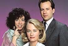 "Moonlighting is an American television series that aired on ABC from March 3, 1985, to May 14, 1989. Starring Bruce Willis and Cybill Shepherd as private detectives, the show was a mixture of drama, comedy, and romance, and was considered to be one of the first successful and influential examples of comedy-drama, or ""dramedy"", emerging as a distinct television genre."