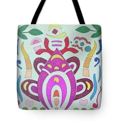 Tote Bag featuring the drawing Epiphany by Sara LaMothe Best Bags, Epiphany, Abstract Art, Fashion Accessories, Reusable Tote Bags, Drawing, Nice, Collection, Sketches