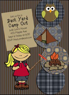 50% OFF TODAY Camp Out Scrapbook Kit Instant by DigiScrapDelights  #scrapbooking #scrapbookingkits #camping #digiscrapdelights #clipart