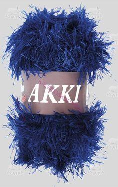 AKKI-modrá 9 na bambule