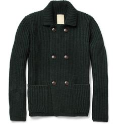 WooyoungmiChunky-Knit Wool-Blend Cardigan|MR PORTER