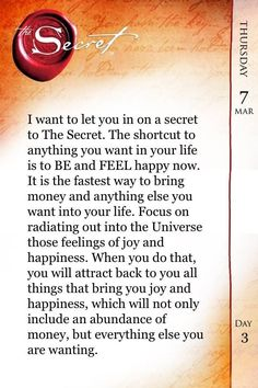 Law of Attraction ❤The Secret ❤️☀️
