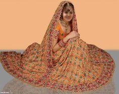 arab-pakistani bridal dress
