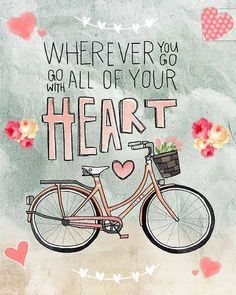 Go with all your <3