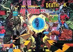 Sam Dodson, The Imaginarium And The Legion Of Monsters (dodgy nokia photo) on ArtStack #sam-dodson #art