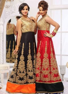 Latest Fashion Blog - Ewows - Silk Anarkali Salwar Suits and Today's Trend