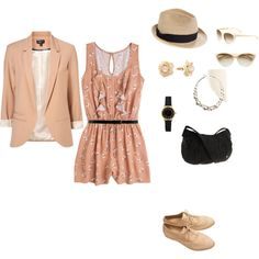 Romper, created by amy-devito-haustetter on Polyvore