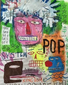 JEAN MICHEL BASQUIAT- UNTITLED; ANDY WARHOL