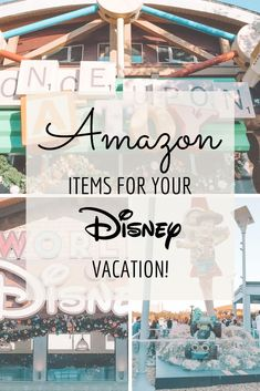 Amazon items for your packing list for Disney!