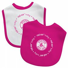 4a1a372c MLB Boston Red Sox Baby Girl Bib 2 Pack Pink $15.95 at #kiditude Football  Baby