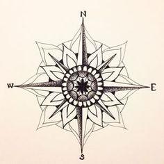 mandala compass - Google Search