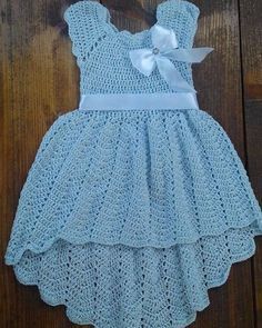 Crochet dresses for 6 months christening baptism gowns blue dress for baby knit dress first communio Image gallery – Page 471963235947854357 – Artofit Crochet Tutu Dress for girls for special occasion. Crochet Tutu Dress, Crochet Baby Dress Pattern, Knit Baby Dress, Baby Dress Patterns, Baby Knitting Patterns, Knit Crochet, Crochet Baby Dresses, Smock Dress, Crochet Patterns