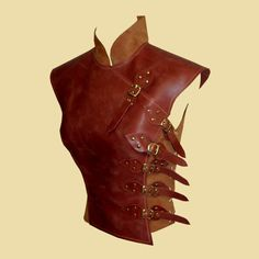 Asymetric soft leather armour in asian style for women Asymetric soft leather armor in asian style Something different! A little accident if you have an unusual hobby but want to stay true to your typ Larp, Leather Armor, Fantasy Armor, Fantasy Costumes, Cosplay, Character Outfits, Historical Clothing, Asian Style, Costume Design