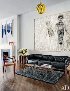 Jewelry Designer Ippolita Rostagno's Stylish Brooklyn Brownstone Photos   Architectural Digest