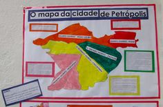 Mapa de Petrópolis, RJ
