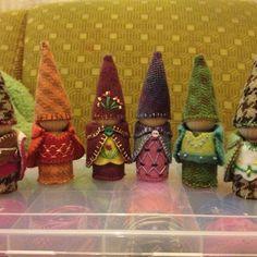 Little folk gnomes