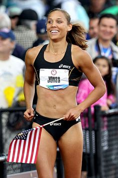 Lolo Jones, track and field (United States)