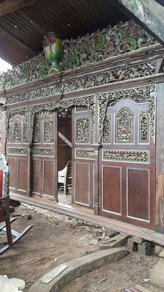 Check out this item in my Etsy shop https://www.etsy.com/listing/533459727/antique-hand-carved-panels-partitions
