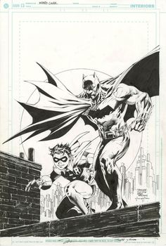 Jim Lee, Scott Williams, and Justin Sinclair ReCreated the classic Carmine Infantino and Murphy Anderson PinUp of the Dynamic Duo as the cover artwork for Wizard: the Comics Magazine # 168.